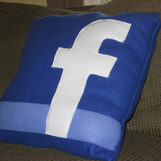 Facebook Pillow