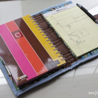 Quilted Planner Cover