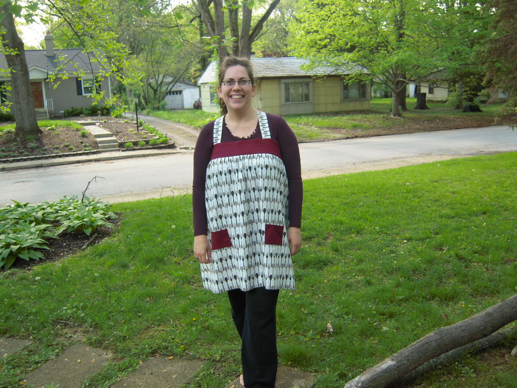Leila's Apron - Front