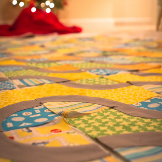 Roads Quilt: Sewing the Blocks Together