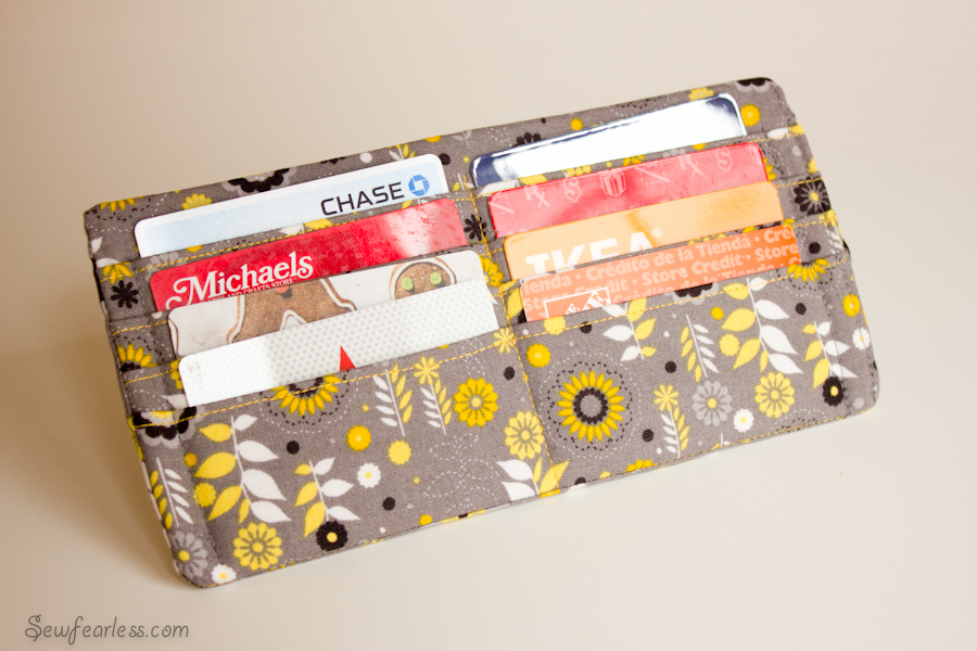 """The """"Well Suited"""" Pleated Clutch Wallet (plus brief How-To!)"""