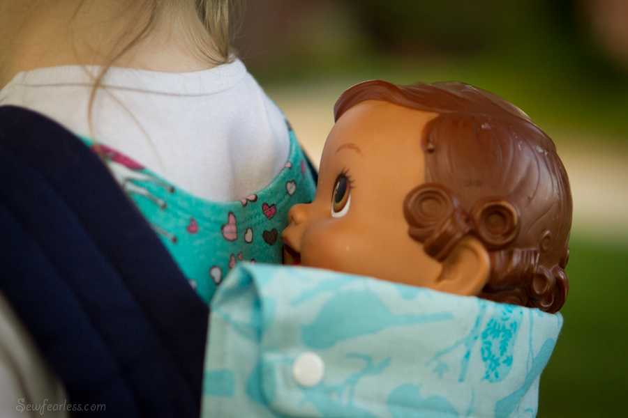 Beau Baby Doll Carrier (and my new blog-crush)