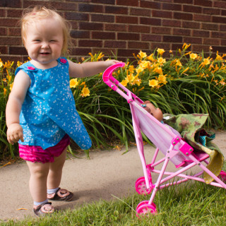 Pattern Favorite: McCall's 5416 Toddler Pullover