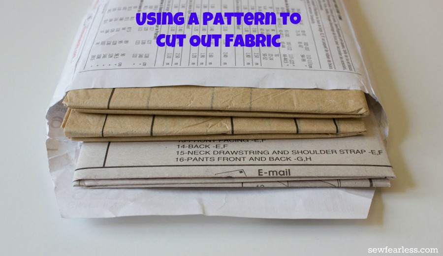 Taking the Leap: Understanding Sewing Patterns – Part 2, Cutting out ...