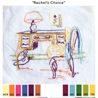 Embroidery Floss Color Palettes #1 and #2 – Rachel's Choice