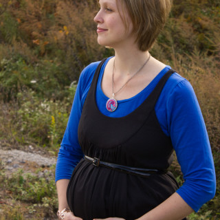 SHMWC PROJECT #2: Maternity Tunic/Dress (McCall's 6347)