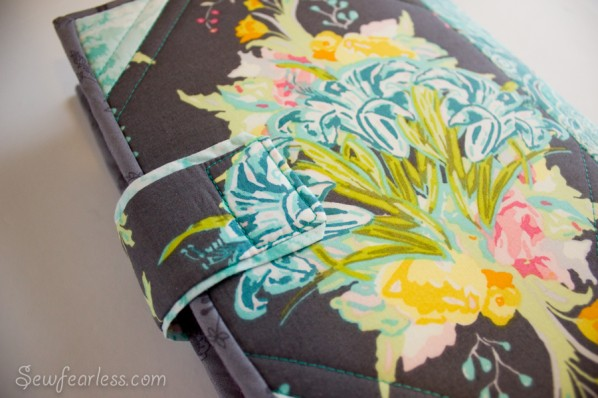 Quilted Planner Cover - SewFearless.com