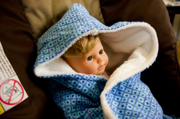 Car Seat Swaddle Blanket - SewFearless.com