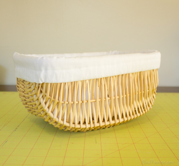 finished basket - sewfearless.com