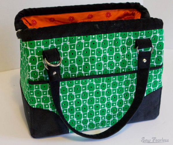 The Mommy Poppins Bag Pattern by SewFearless.com