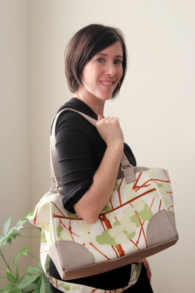 Suzanne's Mommy Poppins Bag (pattern buy sewfearless.com)