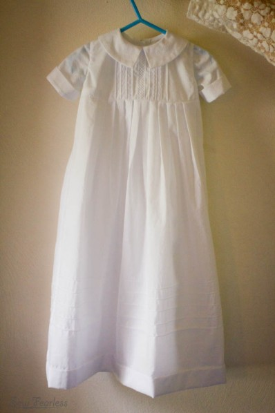 Boys Baptism Gown - SewFearless.com