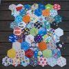 I Spy Hexagon Quilt (WIP) - SewFearless.com