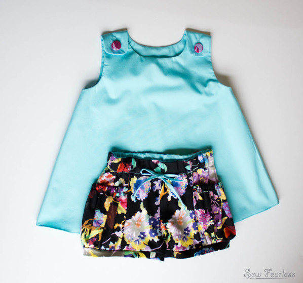 McCalls Tunic and Bubble Pocket Shorts for Toddler - SewFearless.com