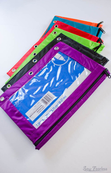 zipper pouches - sewfearless.com