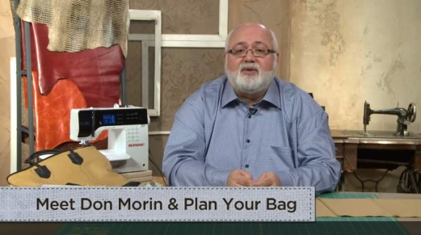 making leather bags with don