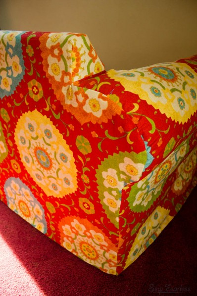 Custom Slipcover for Upholstered Chair - SewFearless.com