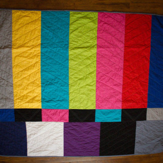 Color Bar Quilt