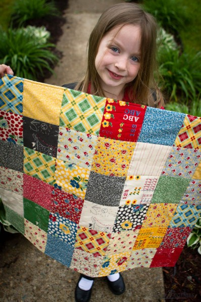 A Baby Quilt for A Teacher