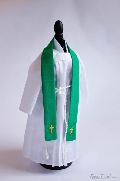 Stole - Miniature Catholic Priest Vestments
