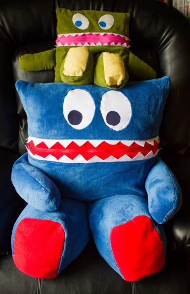 """Mega Eater"" - Twice the Size of a SewFearless.com ""Pajama Eater"""