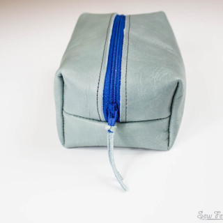 Leather Box Pouch