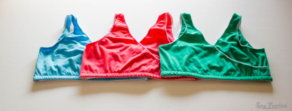 DIY Nursing Sleep Bras + how to sew lingerie elastic