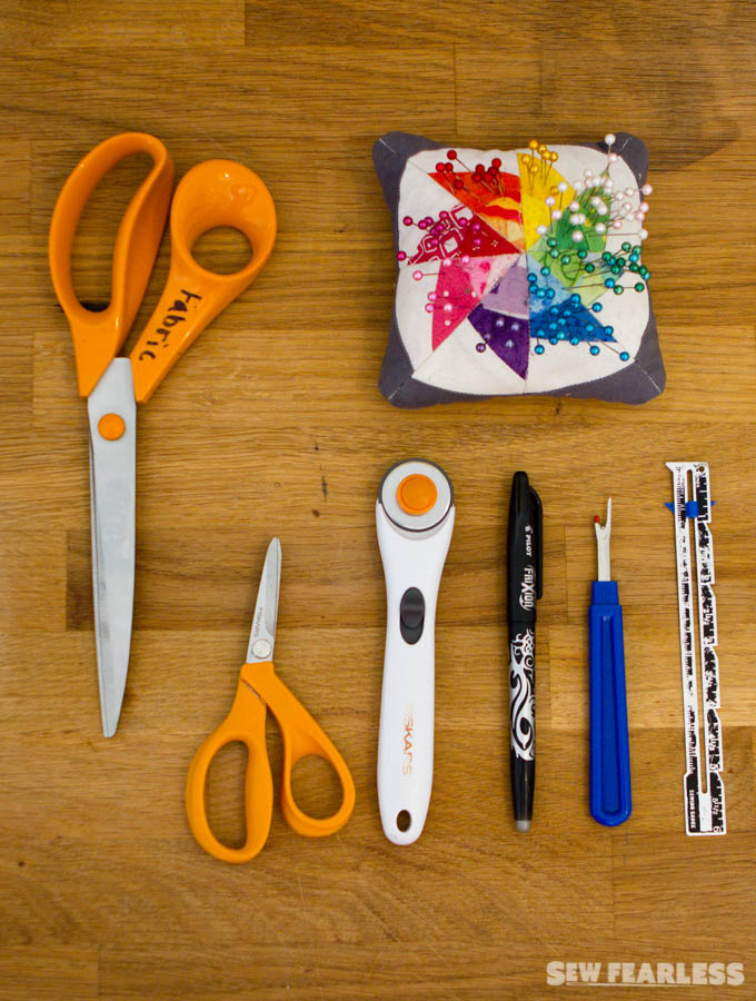 Tools for the Beginning Sewist -