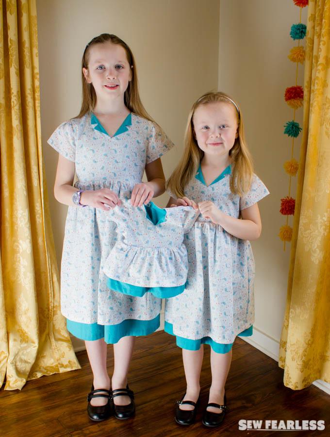 Easter Dresses For My Girls Organic Cotton Plus Fabric Review