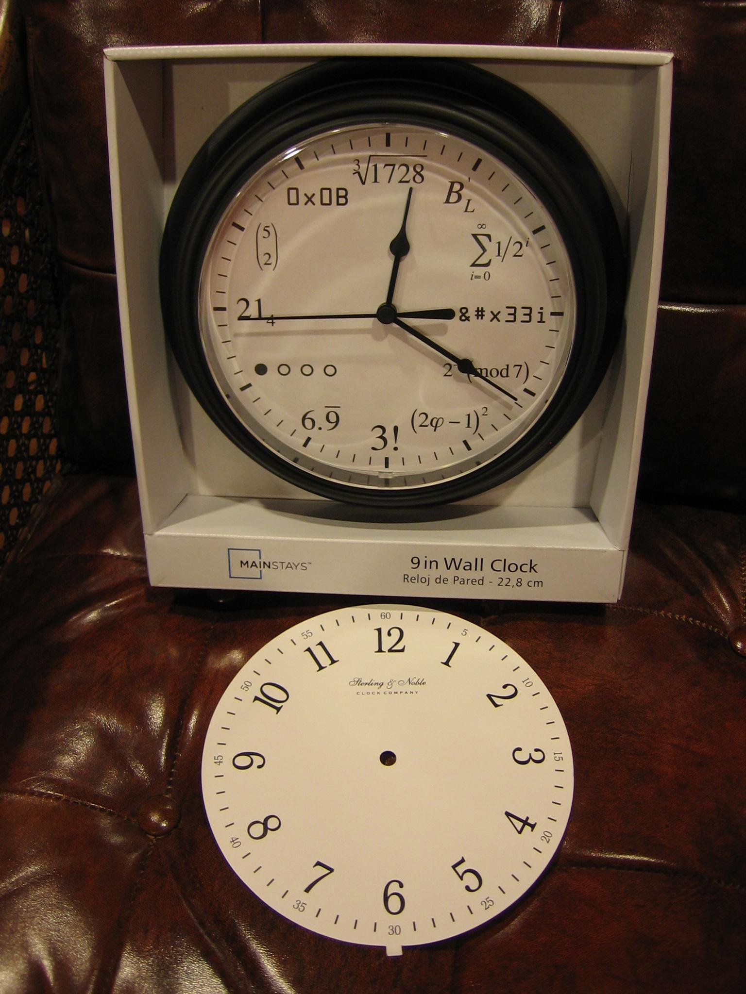 The Math Clock