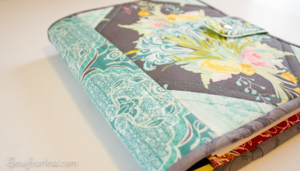 Quilted Planner Cover tutorial - sewfearless.com