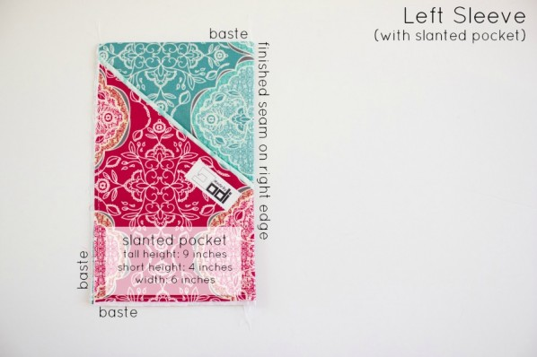 step 2: left sleeve - sewfearless.com