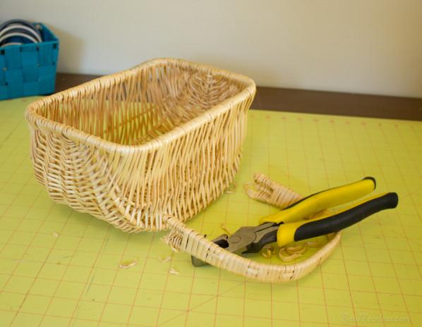 thrift store basket - sewfearless.com