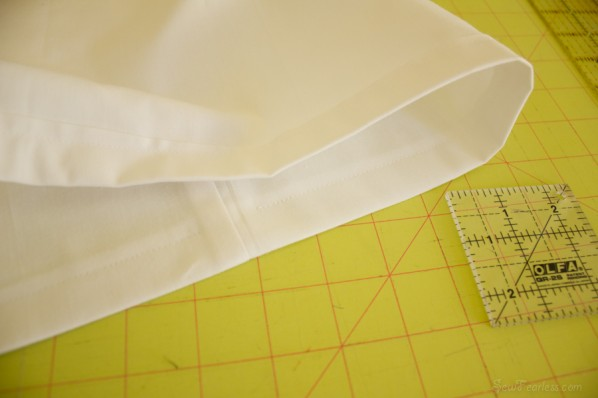 sew an elastic casing - sewfearless.com