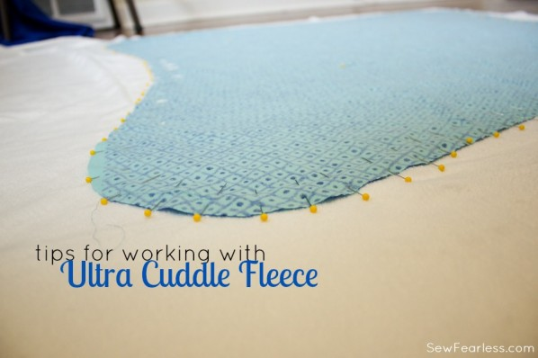 Tips for working with Ultra Cuddle - SewFearless.com