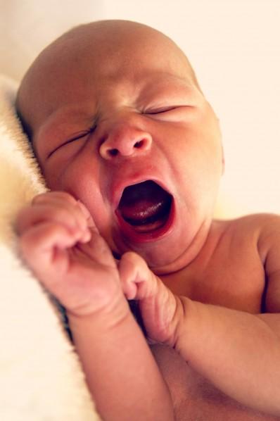 yawning baby - sewfearless.com