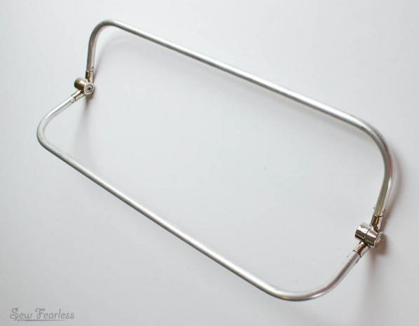 14 inch internal tubular purse frame - sewfearless.com