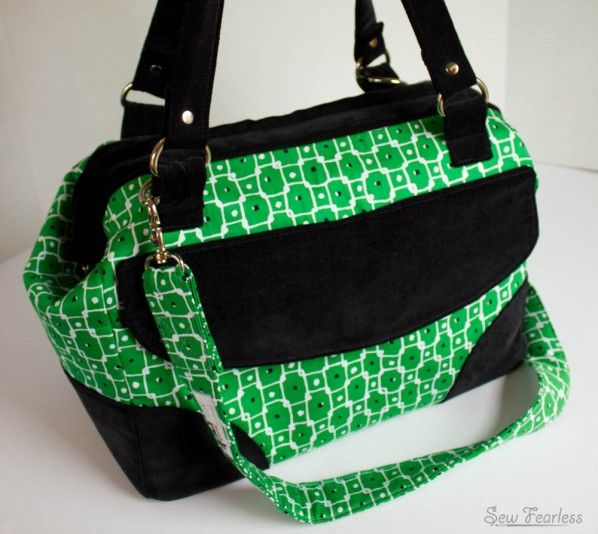 The Mommy Poppins Bag Pattern available at SewFearless.com