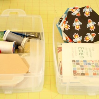 Making a Hexy Kit (The Hexagon I Spy Quilt Project)