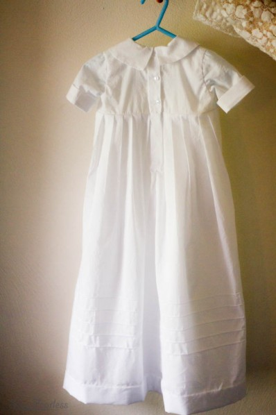 back of baptismal gown - sewfearless.com
