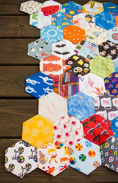 I Spy Hexagon Quilt - SewFearless.com