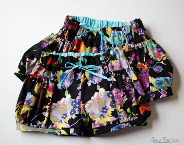 Bubble Pocket Shorts - Sewn by SewFearless.com