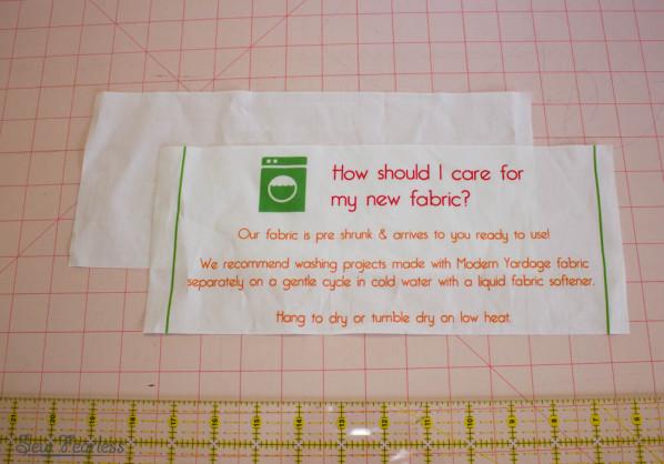 Scribble 'n' Tote Lap Desk pocket lining- SewFearless.com