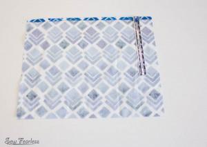 Scribble 'n' Tote Lap Desk- hem outer pocket- SewFearless.com