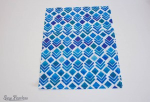 Scribble 'n' Tote Lap Desk-baste outer pocket - SewFearless.com