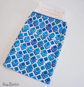 Scribble 'n' Tote Lap Desk- pillow tube - SewFearless.com