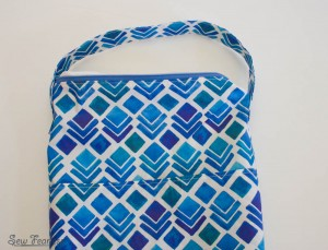 Scribble 'n' Tote Lap Desk- attaching strap - SewFearless.com