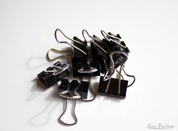 binder clips - sewfearless.com