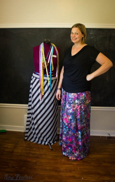 Maxi skirts by SewFearless.com