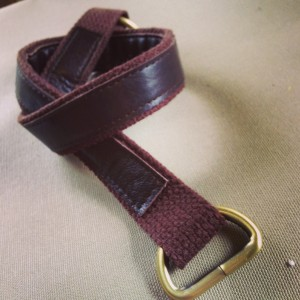 Handmade Cotton and Leather Strap - SewFearless.com